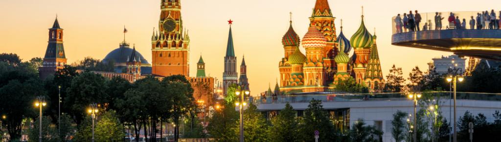 Russian City Skyline